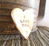 I Like You Purse Keepsake for Women Gifts for Girlfriend Best Friends Birthday Anniversary Couples Wedding Day Memento Police Officer Cop