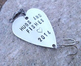 Holiday Gift Thanksgiving Hostess Idea Hugs & Kisses Wedding Favor Hugs and Fishes 2015 Marine Dad Christmas Outdoor Sports Gift fo Husband