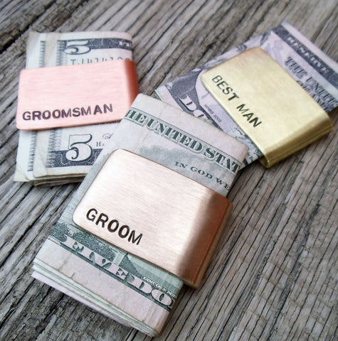 Money Clip Husband Personalized Money Clip Dad Custom Wallet Metal Money Clip Groom's Gift Christmas Wedding Groomsmen's Gift Idea Mens Set