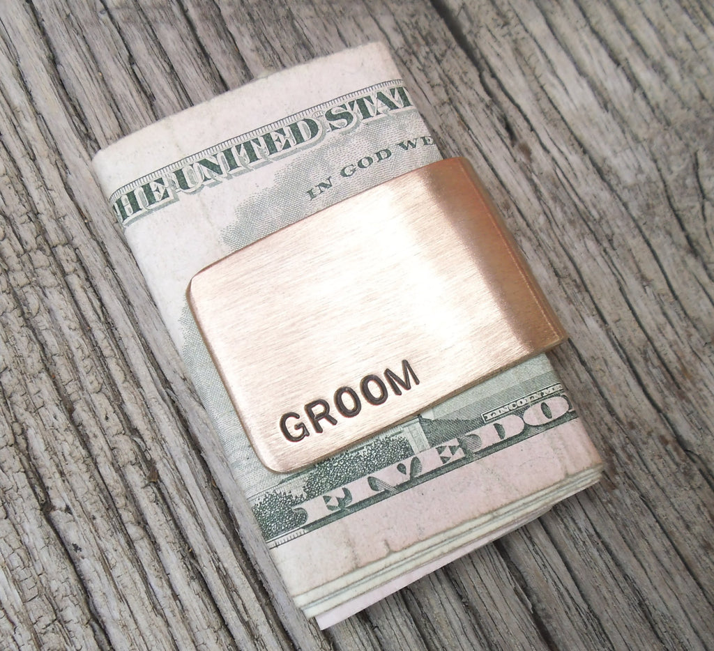 Money Clip Groom Gift for Grooms Dad of the Bride Wallet Clip for Cards and Money New Father Day Gift Daddy Best Uncle Ever Childhood Friend