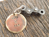 Personalized Keychain Christmas Gift for Mom New Riding Buddy Mommy's Moto X Mom Keyring Dirt Bike Motorcyle Rider From Son to Mom Jewelry