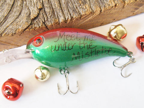 Christmas for Son Birthday Fishing Lure Boyfriend Personalized for Him Fish Hook Husband Gift for Grandpa from Grandkids Mens