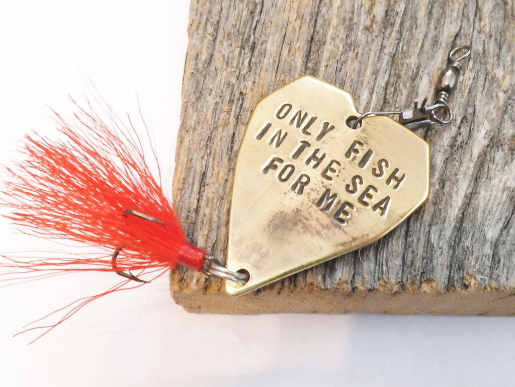 Valentine gift him only fish in the sea for me ocean sea for Fishing gifts for him