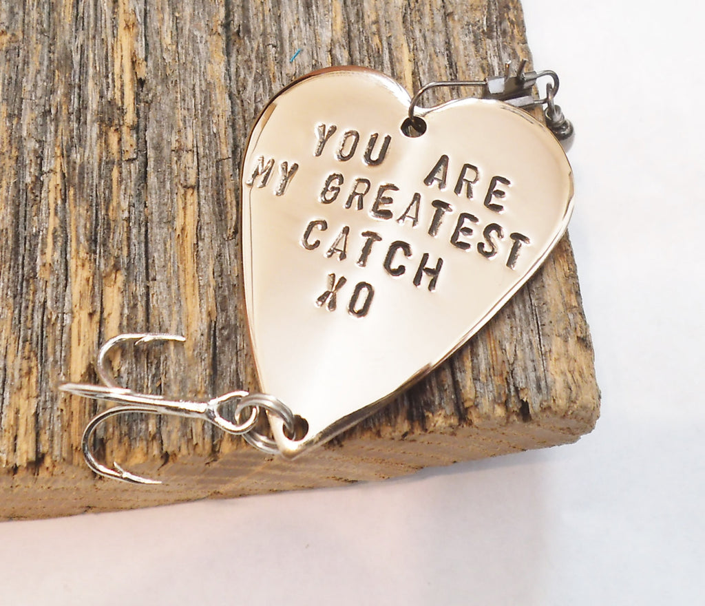 Valentines Day Wedding Gift Personalized Valentine Boyfriend Fishing L C And T Custom Lures