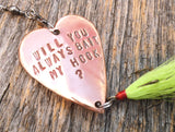 Engagment Gift Will You Always Bait My Hook Fishing Lure Marriage Proposal Wife Asking To Marry You Propose Girlfriend Boyfriend Personalize