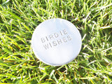 Personalized Birthday Gift Dad Birdie Wishes Golf Gift Ball Marker Boyfriend Anniversary Gift Boss Birthday Party Favor Fathers Day Golfer