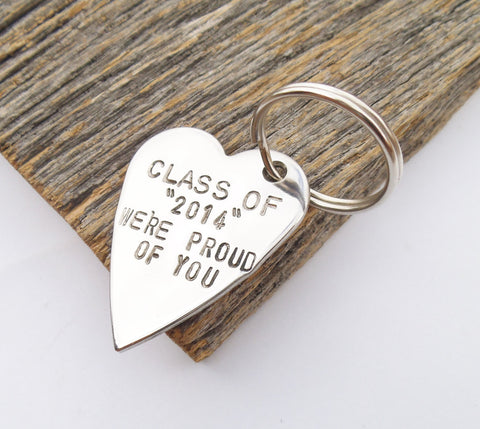 Class of 2015 Graduation Gift for Niece Keychain High School Graduate Nephew Keyring for Him Class of 2015 Keychain for Her Gift Daughter