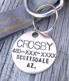 Custom Stamped Dog Tag - Personalized Dog Tag