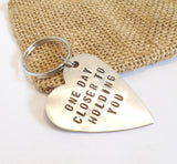 Long Distance Keychain Long Distance Relationship Keychain Long Distance Boyfriend Gift Long Distance Girlfriend College Student Key Chain
