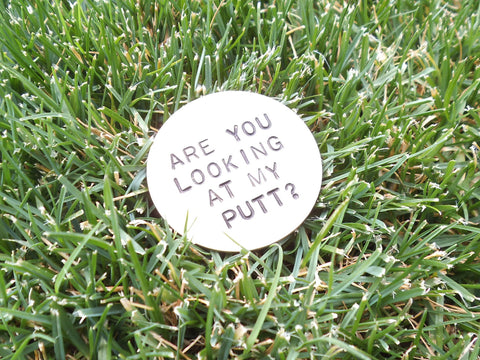 Golfing Ball Markers For Men Birthday Gift Golfer Personalized Him Golf Marker