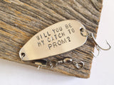 Will You Be My Catch To Prom? - Unique Promposal Fishing Lure