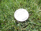 Best Dad Ever Personalized Ball Marker for Father's Day Grandpa Gift for Birthday Papa Retirement Gift for Golfer Best Friend Men Golf Gift