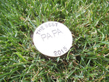 Best Papa Ever Custom Ball Marker for Grandpa Gift Golfing Gifts Personalized Ballmarkers Golf Gift Outdoor Sports Gift Men Gift for Him