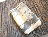 Hidden Message Gift Money Clip Boyfriend Personalized Secret Message Moneyclips for Brother Long Distance Relationship Couples Gift Military