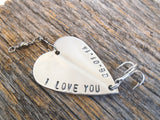 Boyfriend Gift Valentine for Boyfriend Anniversary Gift for Him Long Distance Boyfriend Gift Boyfriend Birthday Gift Fishing Lure Cute Gift