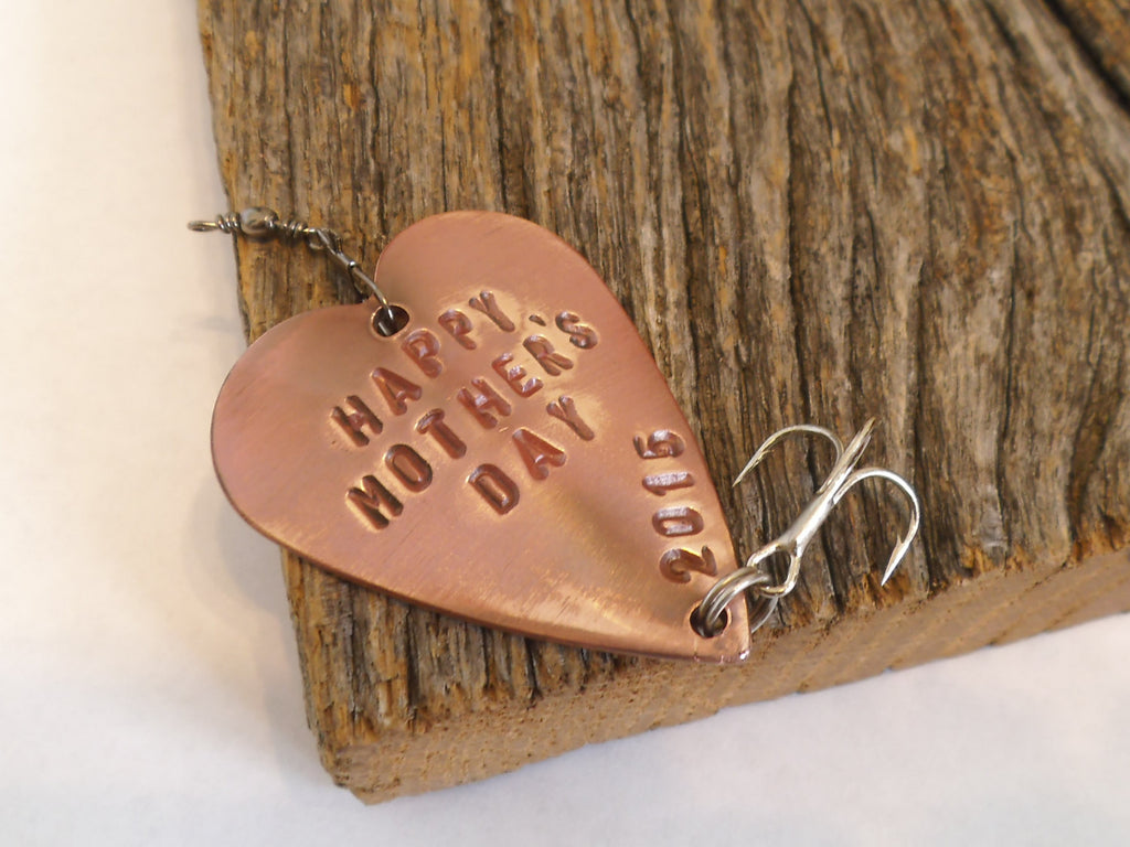 Gifts for Mom from Son Personalized Mother's Day Gift Happy Mother's Day Gift for Mommy To Be Gift for Grandma Custom Fishing Lure Wife Gift