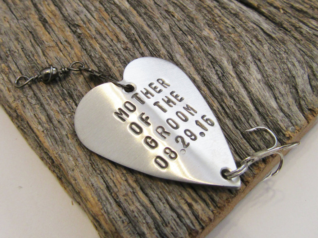 Mother of the Groom Gift from Bride to Mom on Wedding Day Mother's Keepsake Mother of the Bride Gift Fishing Lure for Her Mother in Law Gift