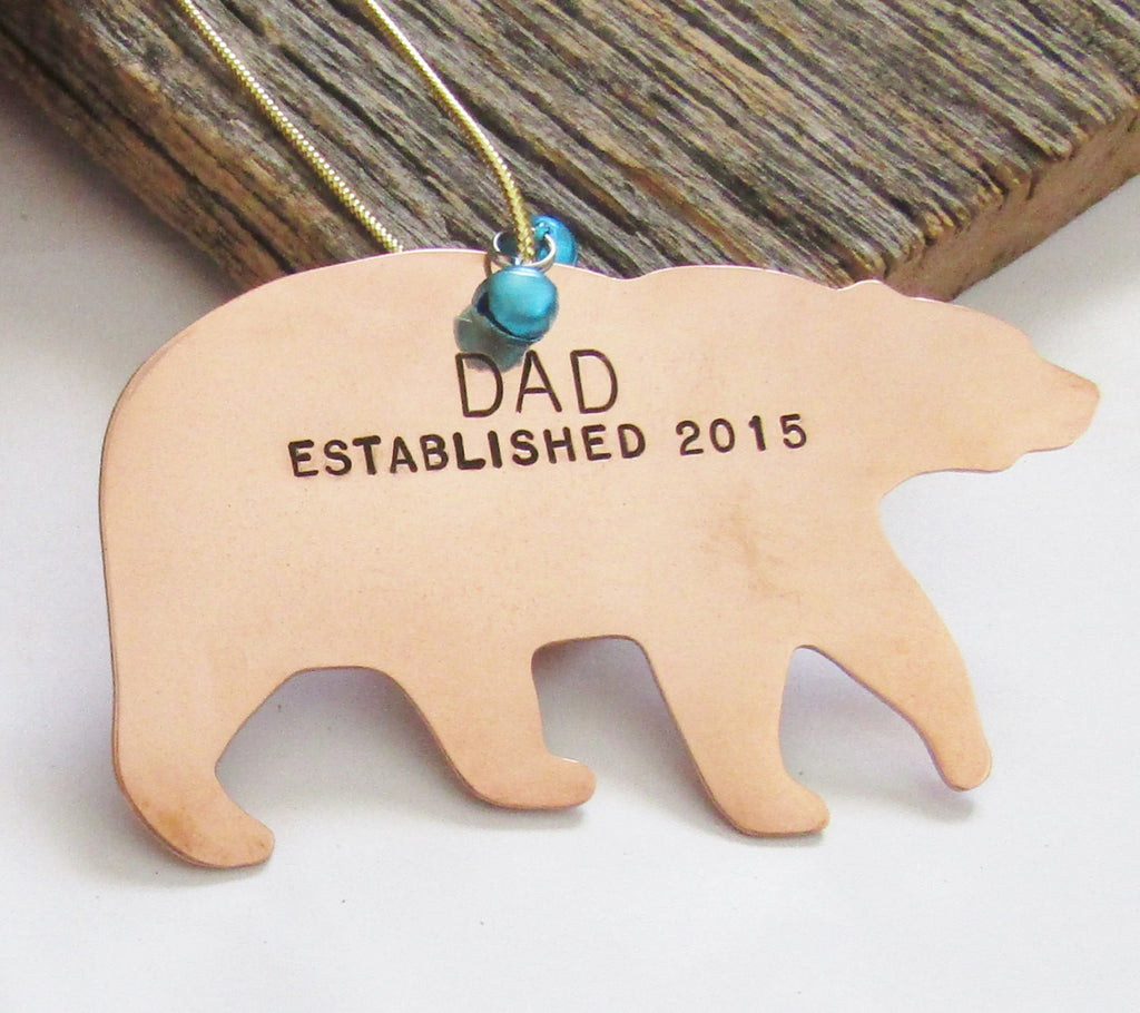 New Dad Ornament for Godparent New Daddy Christmas Ornament for Godmother Gift Will you be my Godfather New Parent Ornament Baptism Ornament