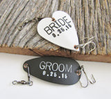 Wedding Present for Son Personalized Wedding Gift for Daughter Christmas Gift Mr and Mrs Wedding Gift Bride and Groom Winter Wedding Lures
