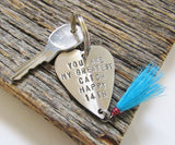 14th Anniversary Gift for Wife You Are My Greatest Catch Fishing Keychain Pesonalized Fishing Gifts 14 Year Anniversary Gift Idea Fourteenth