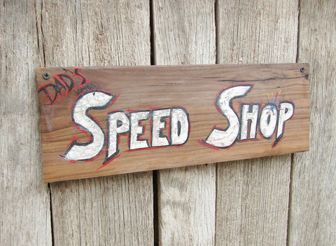 Shop Sign Motorcyle Gift Car Collector Sign Mechanic Sign for Dad Father's Day Gift for Husband Car Repair Shop Signage Old Sign Rustic Sign