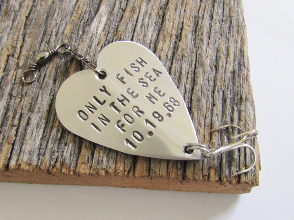 Christmas Gift for Boyfriend Christmas Present Idea Fishing Lure Personalized Christmas Gift Wife Christmas Gift Winter Wedding Favor Ideas
