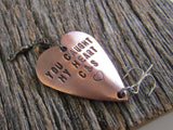Valentine Gift for Him Fishing Lure Boyfriend Gift Husband Gift for Girlfriend Best Friend Gift for Wife Personalized Boyfriend Present Mens