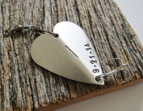 1st Anniversary Gift for Men 1st Anniversary Gift for Boyfriend First Anniversary Gift for Husband Fishing Lure for Him for Wife for Couple