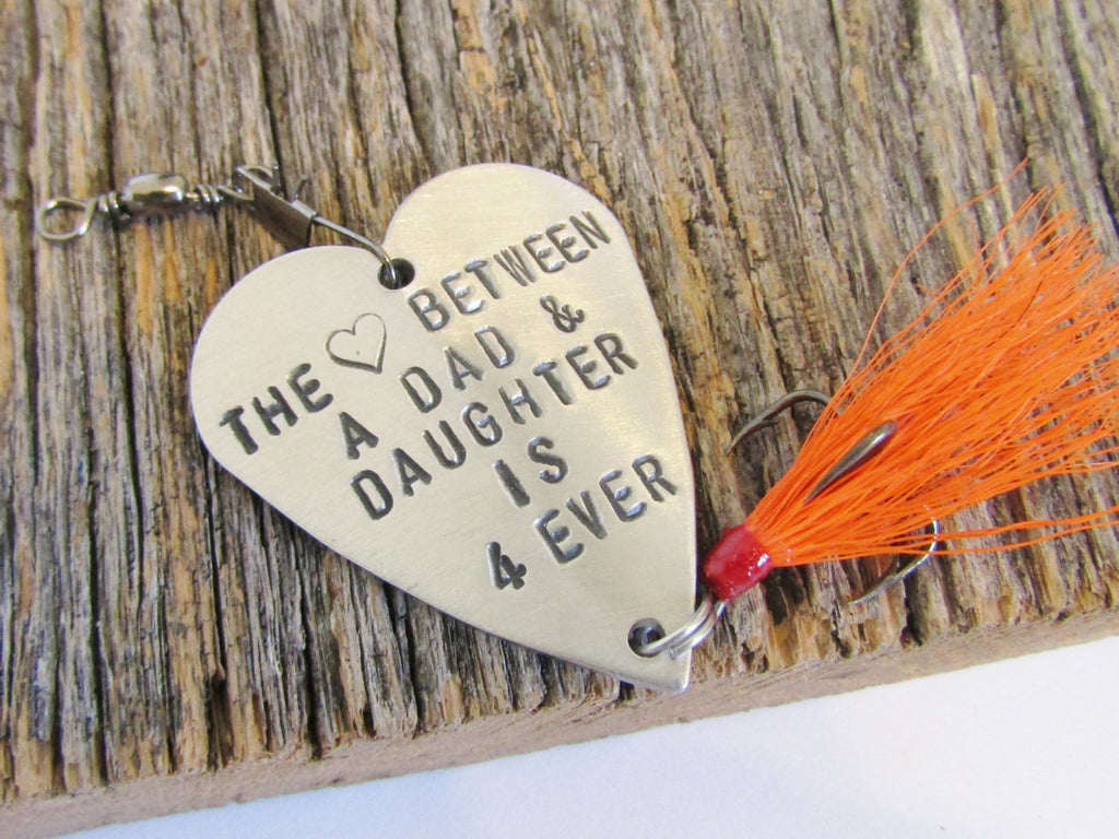 first christmas gift for dad from daughter father gifts from children personalized fishing lure for daddy