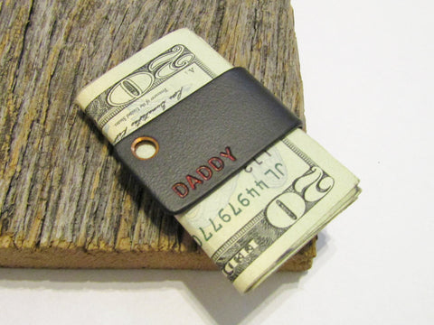 Wedding Money Clip for Father of the Bride Minimalist Gift Sleek Design Money Clip Wallet Clip Valentine's Day Boyfriend Masculine Gift Idea