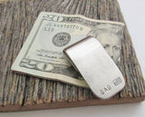 Military Dad Money Clip American Flag Gift for Patriot US Marines United States Army Deployment Gift Patriotic Memorial Day Military Veteran