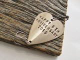 Bronze Anniversary - Personalized Heart Lure