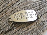 Personalized Fishing Lure for Godson - Custom Gift Idea for Boys Confirmation