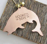 Valentine's Day Gift for Boyfriend Fishing Valentine for Girlfriend Gift for Husband First Valentines Day Gift Personalized Hooked on You