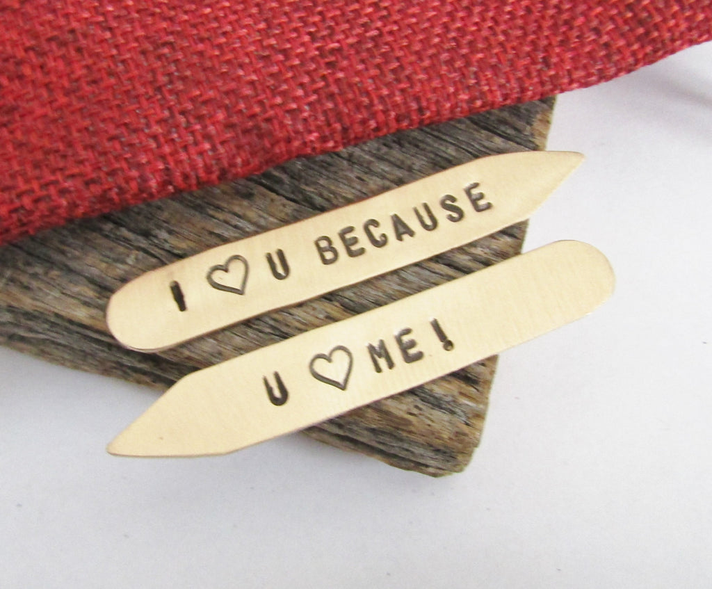 Bronze Anniversary Gift for Men Traditional 8th Anniversary Gift Custom Collar Stay I Love You Because Husband Gift Boyfriend Gift Valentine