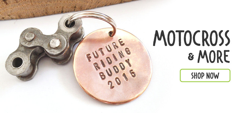 Motocross Custom Keychains and Personalized Gifts