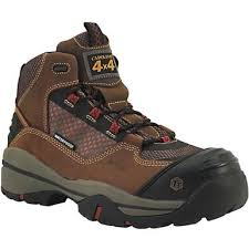 "CAROLINA MEN'S 5"" WATERPROOF CARBON COMP TOE HIKER STYLE #CA4551"