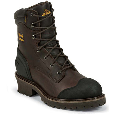 "CHIPPEWA COMPOSITE TOE WP INSULATED 8"" LOGGER #55051"