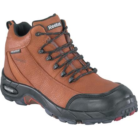 REEBOK MEN'S COMPOSITE TOE WP HIKER WORK SHOE STYLE# RB4444
