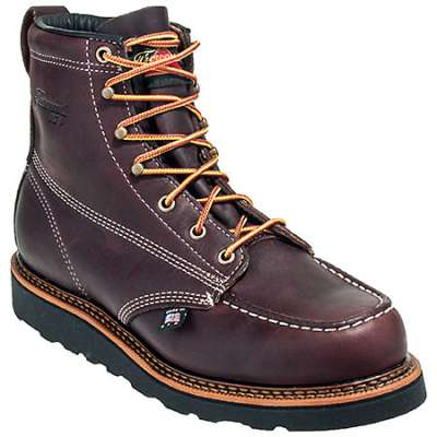 "THOROGOOD MEN'S 6"" AMERICAN HERITAGE MOC TOE WEDGE BOOT STYLE #T4266"