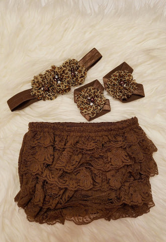 Animal Print Bloomer Set