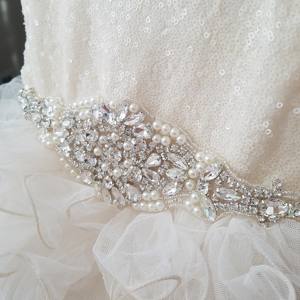 True Princess - Ivory Sequin Tulle Dress