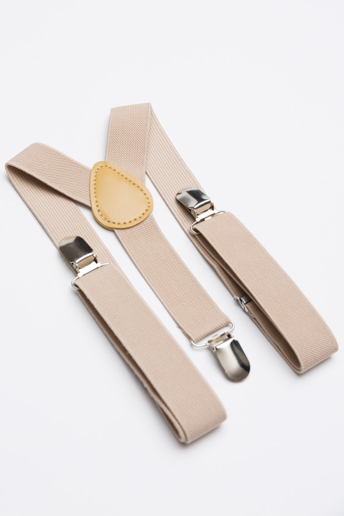 Nude Suspenders - Baby, Toddler & Boys