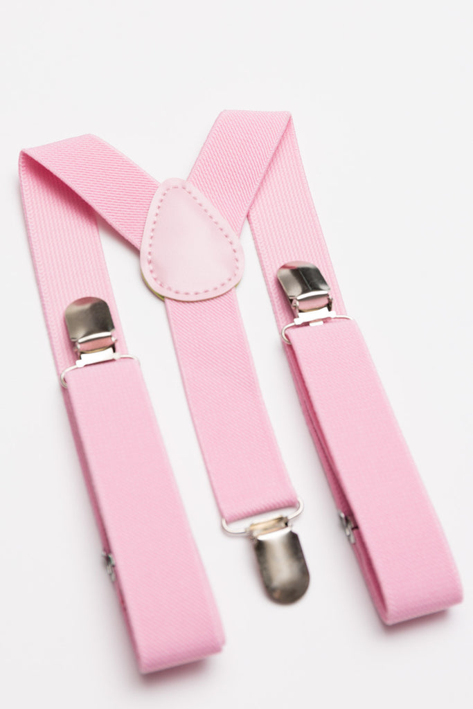 Pink Suspenders - Baby, Toddler & Boys