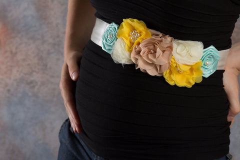 Maternity Sash, Maternity Photo Prop