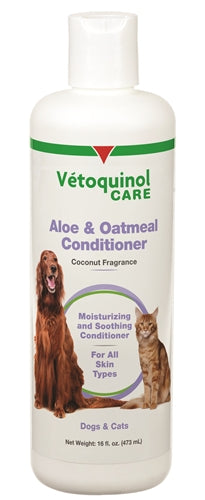 Vetoquinol Aloe & Oatmeal Conditioner 16oz