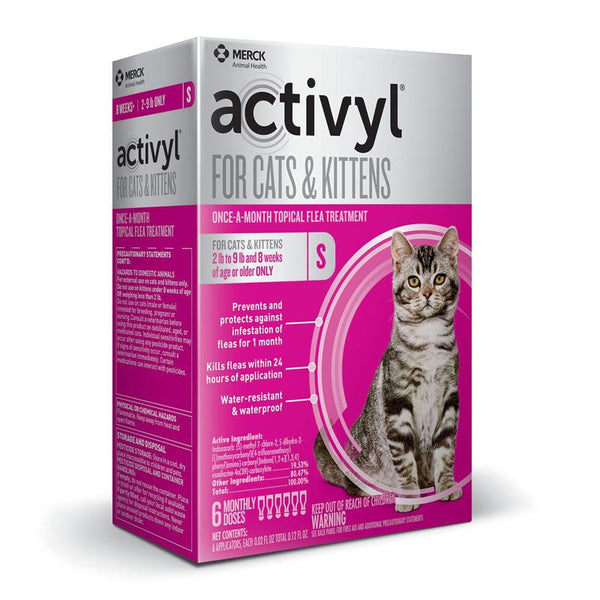 ACTIVYL Small Cat 2 - 9lbs. White & Orange - 6pack