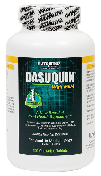Dasuquin Chew MSM Small & Medium 150ct