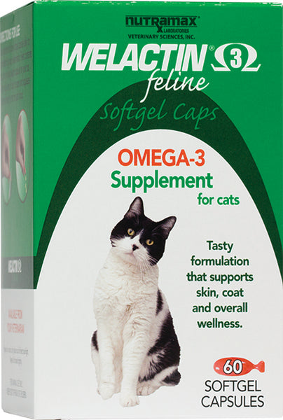 Welactin Feline Softgel Twist 60ct Short Dated 8/19
