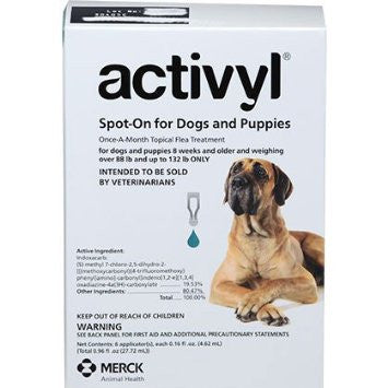 ACTIVYL Extra Large Dog 89 - 132lbs. White & Turquois - 6pack